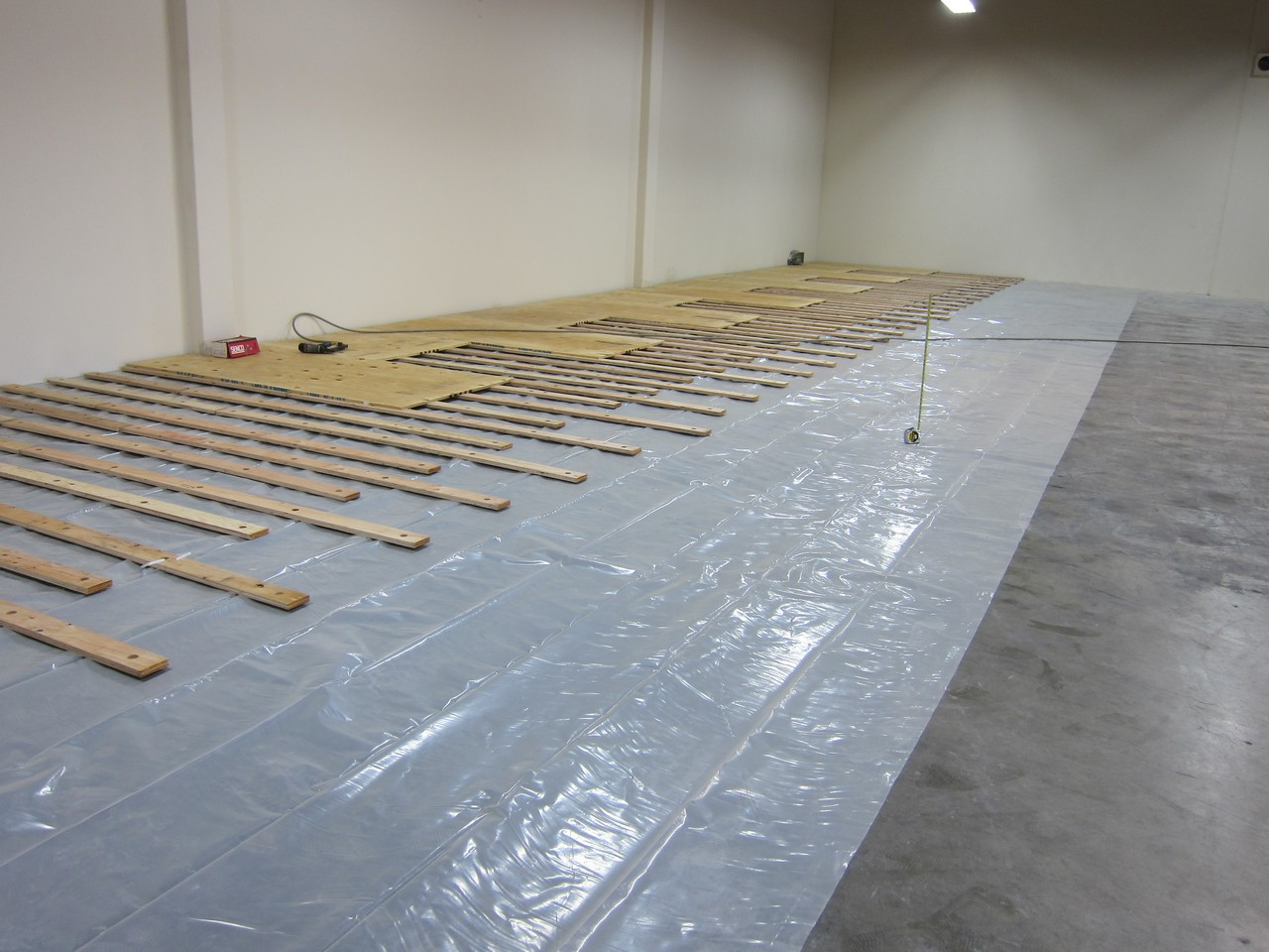 Install Hardwood Floors On Concrete Dojo Flooring Images