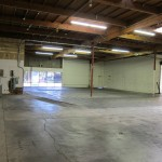 View of the warehouse on the future Mat Area