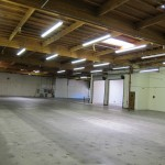 View of the warehouse from the future E-BOGU Warehouse side